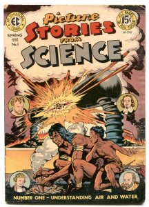 Picture Stories From Science #1 1947- EC comics VG/F