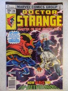 DOCTOR STRANGE # 28