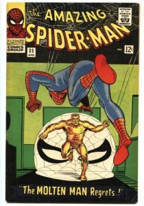 Amazing Spider-man #35 comic book 1966- Molten Man- Marvel Silver Age VF-