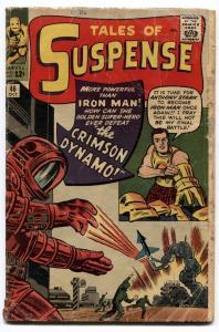 TALES OF SUSPENSE #46 1963-IRON MAN-1st CRIMSON DYNAMO  G