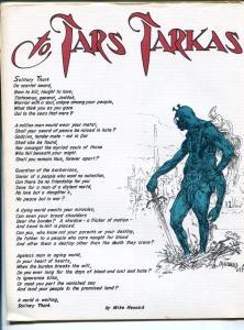 ERB-dom #12 1965-Edgar Rice Burroughs & Tarzan fanzine-limited printing-FN