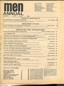 Men Annual #3 1969-Atlas-early Pussycat-Bill Ward-cheesecake-pulp thrills-VG+