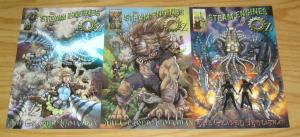 Steam Engines of Oz: the Geared Leviathan #1-3 VF/NM complete series steampunk