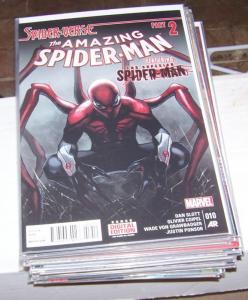 Amazing Spider-Man #  10 ( 2015, Marvel)  spider-verse pt 2+ superior spiderman