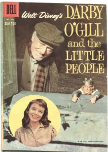 DARBY O'GILL & THE LITTLE PEOPLE #1024-ALEX TOTH ART--DELL FOUR COLOR-1959