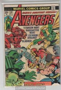 AVENGERS (1963 MARVEL) #130 GOOD A15570