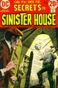 Secrets of Sinister House #12 FN; DC | save on shipping - details inside