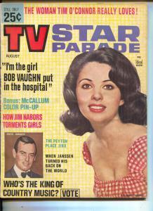 TV Star Parade-Barbara Parkins-Bob Vaughn-David McCallum-Jim Nabors-Aug-1965