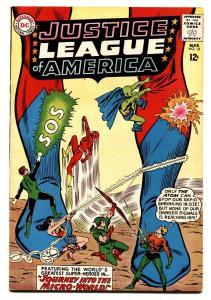 JUSTICE LEAGUE OF AMERICA #18 comic book-DC COMICS-MICRO WORLD VG