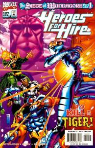 HEROES FOR HIRE (1997 MARVEL) #15 NM- AGSQ86