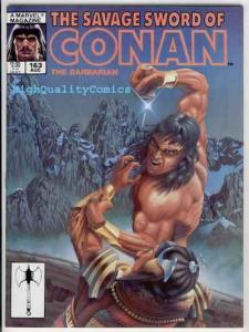 SAVAGE SWORD of CONAN #163, VF/NM, Code of the Wolf, Gil, more SSOC in store
