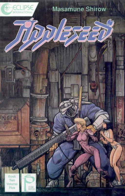 Appleseed Book 2 #5 VF/NM; Eclipse | save on shipping - details inside