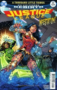Justice League (3rd Series) #22 VF; DC | save on shipping - details inside