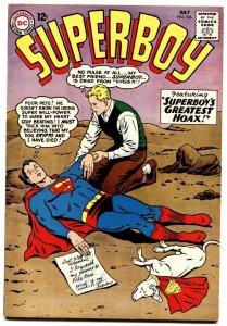 SUPERBOY #106-1963-Krypto-DC SILVER AGE-VF-