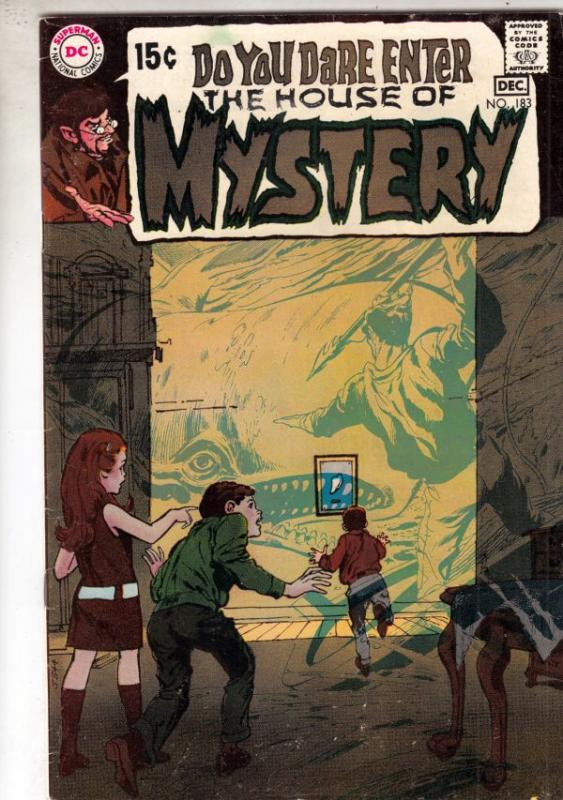 House of Mystery #183 (Dec-69) FN/VF+ High-Grade