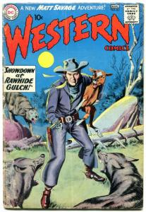 Western Comics #82 1960- Matt Savage Trail Boss- greytone cover G/VG