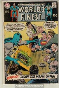 WORLD'S FINEST (1941 DC) #194 VG+ A04398