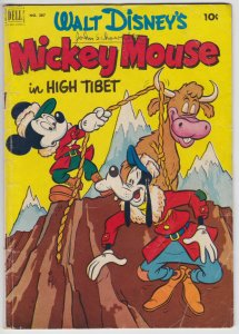 Four Color #387 (Apr 1952) 3.0 GD/VG Dell Mickey Mouse