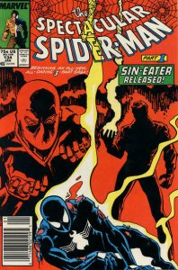 Spectacular Spider-Man, The #134 (Newsstand) VG; Marvel   low grade comic - save