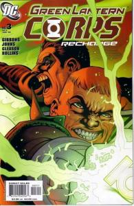 Green Lantern Corps: Recharge #3, NM (Stock photo)