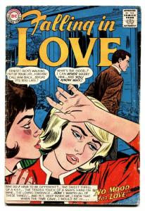 Falling In Love #69 comic book 1964 Silver-Age DC-love triangle-spicy romance