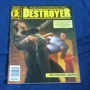 DESTROYER #6 1990 MARVEL B&W MAGAZINE 52 PGS BASED ON REMO WILLIAMS..VF
