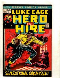 Luke Cage Hero For Hire # 1 VF Marvel Comic Book 1st Appearance Key Origin RS1