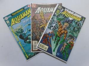 Aquaman (1994) Annual #1-3 Run - 8.0 VF - 1995-1997