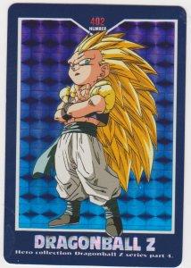 1995 Japanese Dragonball Z Card #4