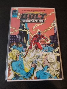 BOLT AND STARFORCE SIX #1 NM JERRY ORDWAY