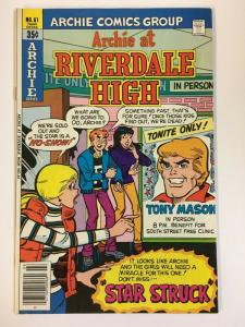 ARCHIE AT RIVERDALE HIGH (1972-1987)61 VF-NM   Mar 1979 COMICS BOOK