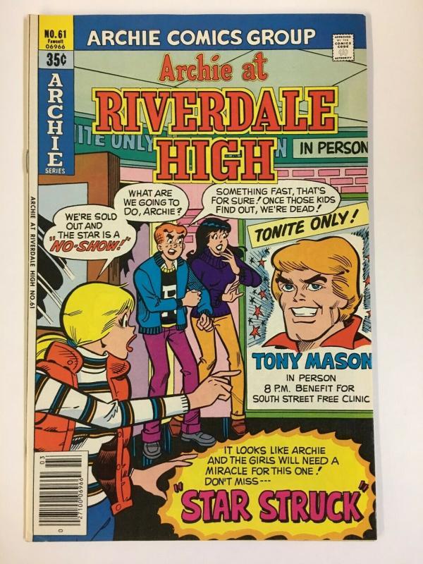 ARCHIE AT RIVERDALE HIGH (1972-1987)61 VF-NM   Mar 1979 COMICS BOOK