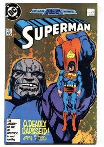 Superman #3 1987 DC comic book DARKSEID cover NM-