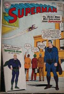 Superman #163 (DC,1963) Condition Fair