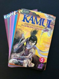 LOT of 10~Eclipse Comics~KAMUI A Genuine Ninja Story #5-11,13,16-17 VF (A184)
