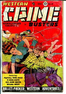 Western Crime Busters #8 1951-Good Girl Art-Wilma West-P/FR