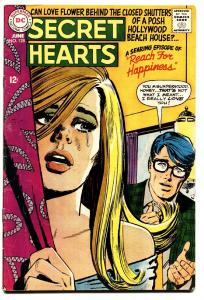 SECRET HEARTS #128 comic book-1968-REACH FOR HAPPINESS-DC ROMANCE-VG