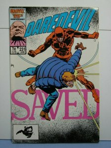 Daredevil #231 (Marvel Comics, June 1986) SIGNED Frank Miller Old School-Style