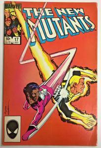NEW MUTANTS#17 VG 1984 MARVEL COMICS