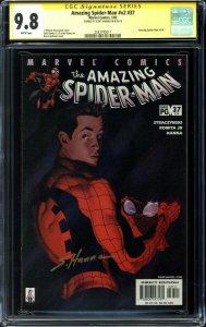Amazing Spider-Man Vol 2 #37 CGC 9.8 Signature Serie - Scott Hanna