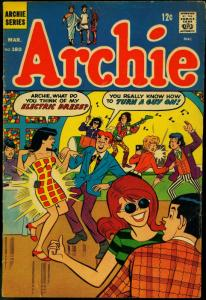 Archie Comics #180 1968- Betty and Veronica- Psychedelic cover VG