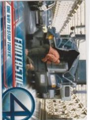 2005 Upper Deck Fantastic Four Movie ONE WAY TO STOP TRAFFIC #30