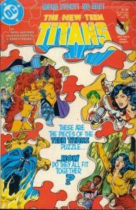 New Teen Titans (1984 series) #15, VF+ (Stock photo)