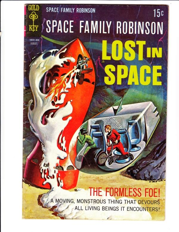 Space Family Robinson, Lost in Space #29 (Aug-68) FN Mid-Grade Will Robinson,...