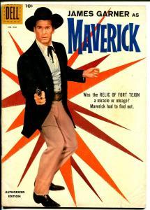 Maverick-Four Color Comics #930 1958-Dell-James Garner-TV series-VG