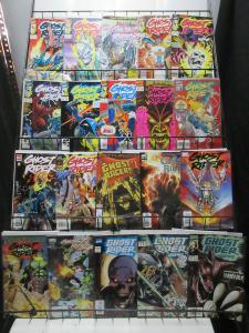 Ghost Rider Modern Age Mini-Library Lot of 48Diff Danny Ketch + 2099 + Blaze