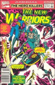 Marvel THE NEW WARRIORS (1990 Series) Annual #2 VF+