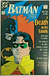 BATMAN#427 FN/VF 1988 'A DEATH IN THE FAMILY' DC COMICS