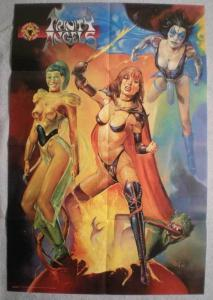 TRINITY ANGELS Promo poster, 20x30, 1997, Unused, more Promos in store
