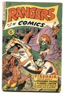 Rangers Comics #49 1949- FIREHAIR- Jan of the Jungle VG
